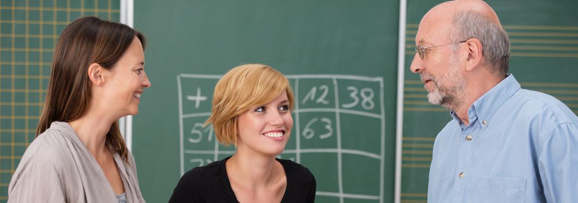 Drei Lehrer im Gespräch über Schulentwicklung